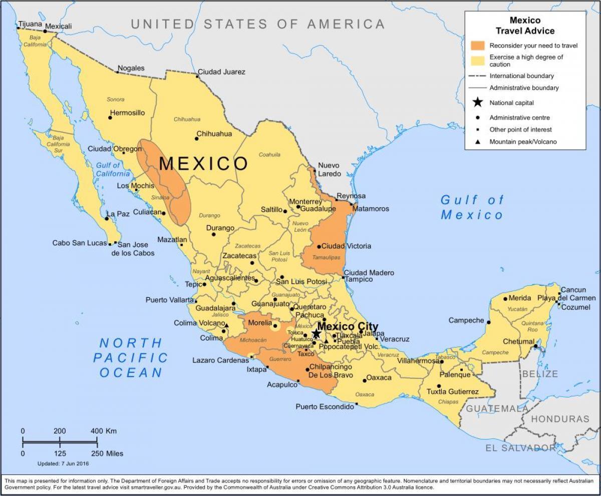 Mexico City Alueen Kartta Kartta Mexico City Ja Lahialueilla