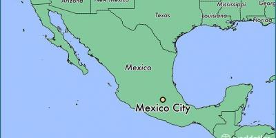 Mexico City Map Karttoja Mexico City Meksiko